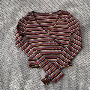 pacsun long sleeved shirt